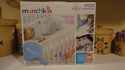Munchkin Lulla-Vibe Vibrating Mattress Pad Baby Bed Crib