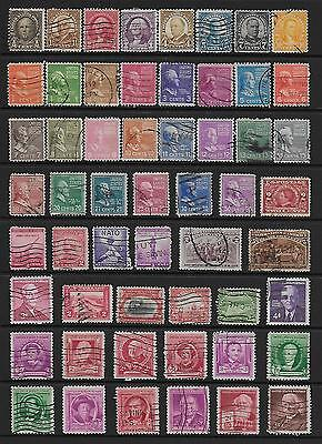 United States Selection 2 Stock Cards In Good Condition Used. # 5.