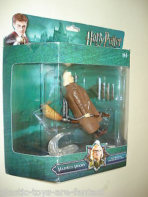 Harry Potter MAD-EYE MOODY DELUXE Action Figure Order of the Phoenix PopCo NEW