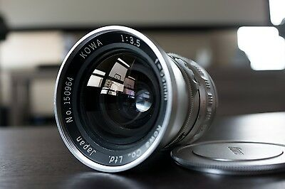 KOWA SIX 55mm f3.5 Wide Angle lens EXCELLENT 77mm version