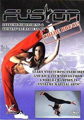 European Fusion Extreme Stretching martial arts DVD Chloe Bruce