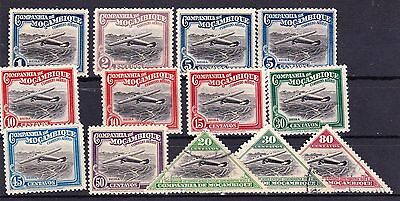 Small Collection of Company of Mozambique Air Mail Stamps 1935