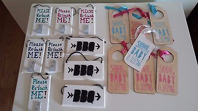 Selection Of Home Decor Plaques - New