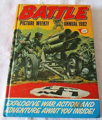 Battle Picture Weekly Annual 1982 - Price Clipped