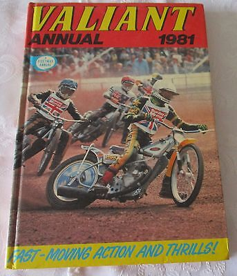 Valiant Annual 1981 - Price Clipped
