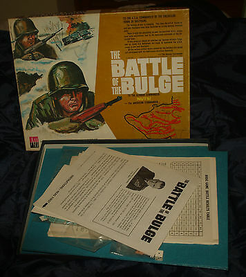 The Battle Of The Bulge War Game 1965 Gioco 56 67 And 73 Vintage Gioco Guerra