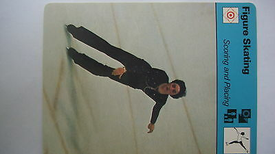 Rare Sportscaster Rencontre Collectable Card Figure Skating Scoring And Placing
