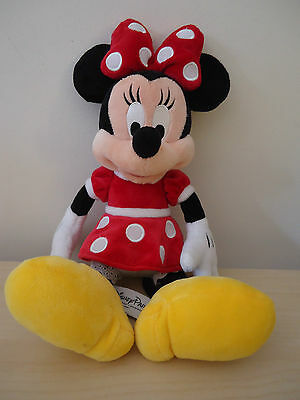 Minnie Mouse Plush Toy Disney Stuffed Animal Collectable  Original Authentic