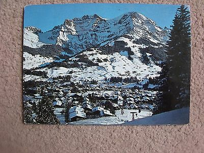 Posted colour postcard of Adelboden Bernese Oberland postmarked 1972
