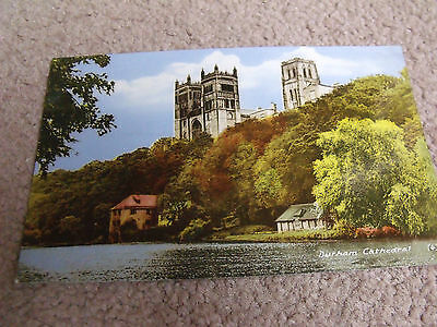 M and L National Series posted card of Durham Cathedral
