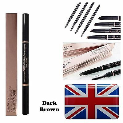 Anastasia Beverly Hills Eyebrow Brow Definer Liner Dipbrow Pencil Pen Dark Brown