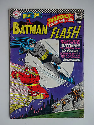 Brave and the Bold #67   Batman   The Flash   Speed Boys   Carmine Infantino