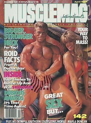 Musclemag Bodybuilding Magazine April 1994