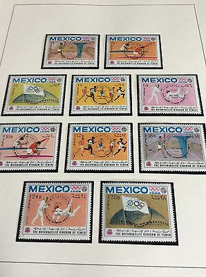 Mexico Olympic Games 1968 Massive Sale all items start £1.30 Yemen set 7