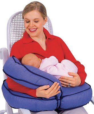 Baby Breast Feeding Pillow Contoured Adjustable Support Cushion Infant Nursing