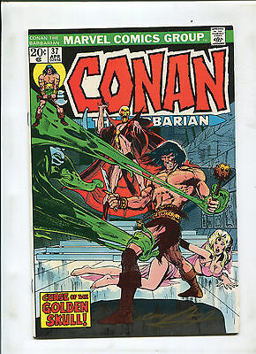 Conan The Barbarian #37 (8.0) Signed By Neal Adams! Cover And Art!