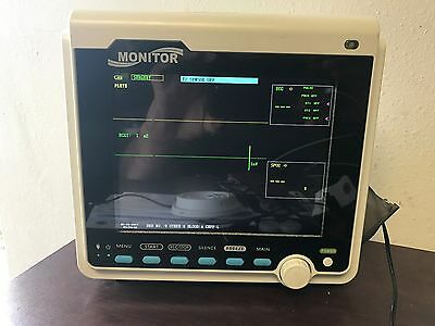 Contec Veterinary CMS6000VET  ICU Patient Monitor with Thermal Printer