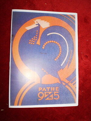 PATHE VOX 9.5mm SOUND PROJ.INSTRUCTION MANUAL