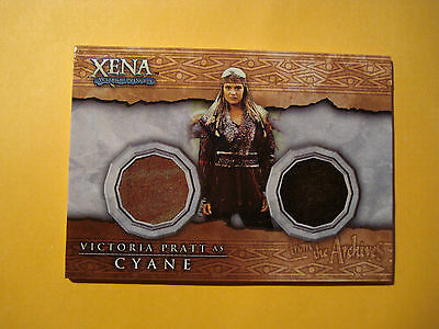 Xena Beauty and Brawn DC2 Dual Costume Card