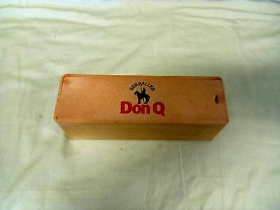 Vintage Puerto Rico Don Q Serralles Rum Advertising Dominoes