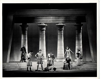 "g500. RARE Orig 1947 Broadway Photo Katharine Cornell in ""Antony and Cleopatra"""