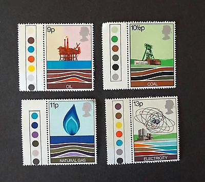 GREAT BRITAIN SC# 827-830  North Sea Oil Production MNT set of 4 w/tags     MNH