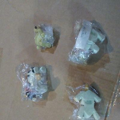 Charming Tails Manger Animals Set Of 4  87482 ~ Rare Cute New Factory Fresh