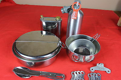 Stainless Cookware Camping, Sigg Fuel, Inox Silverware,
