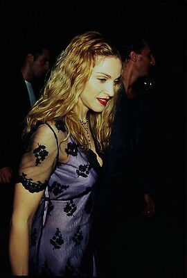 4 Color Photo Slide Pictures of Madonna - 1997 in New York City