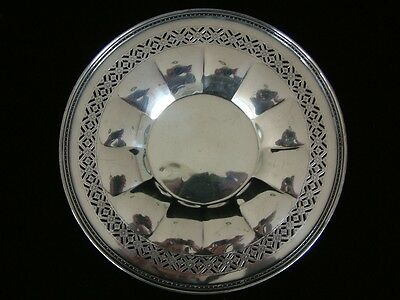 Sheffield Royal Rochester HEAVY Silver Plate Art Deco Charger Platter Tray Dish