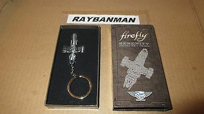 Loot Crate Firefly - Serenity Ship Metal Key Chain - Qmx - NEW