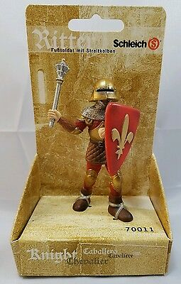Schleich Knight Foot Soldier With Mace 70011 The World of Knights Figure