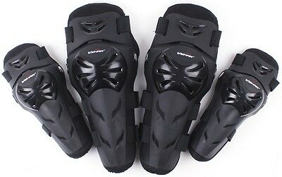 5 Color Motocross Motorcycle Racing ABS Elbow Knee Pads Armor Protective Guard