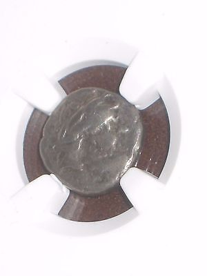 "200-100 BC ""AR Drachm"" CELTS,EASTERN EUROPE NGC CH F--ANCIENT/UNCOMMON/NICE!"