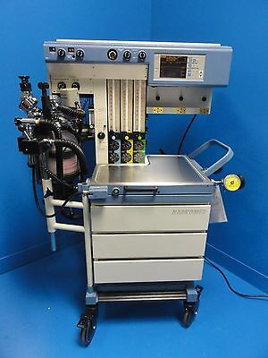 Drager Narkomed Gs Anesthesia System W/ Ultrasonic Flow Detector (11757)