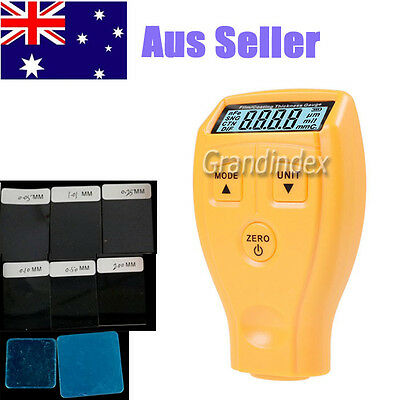 Digital 0-1.8mm/0.01mm LCD Coating Thickness Gauge Car Paint Thickness Meter