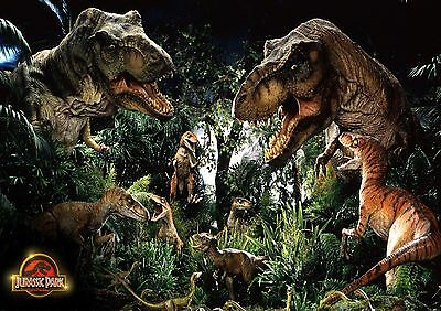 Jurassic Park - A4 Glossy Poster - TV Film Movie Free Shipping #135