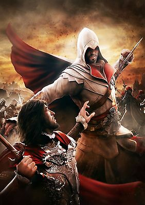 Assassin's Creed - A4 Glossy Poster -TV Film Movie Free Shipping #117