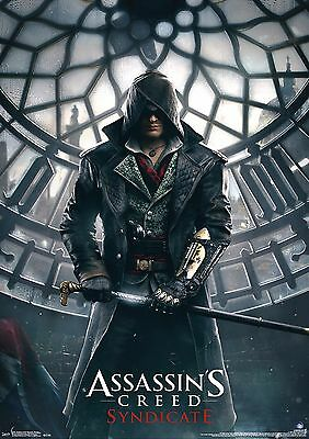 Assassin's Creed - A4 Glossy Poster -TV Film Movie Free Shipping #118
