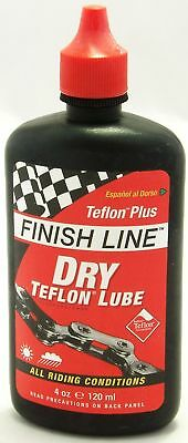 Finish Line Dry Lube Teflon 4 oz Drylube for Mountain/Road Bike Bicycle Chain