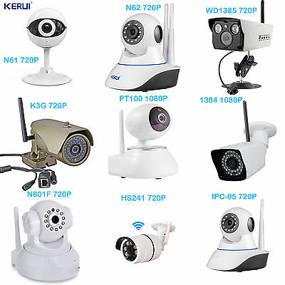 Wireless WIFI HD IP Camera indoor and Outdoor Waterproof Security Night Vision
