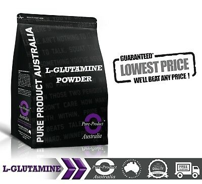 1KG PHARMACEUTICAL GRADE 100% PURE MICRONISED L GLUTAMINE Powder