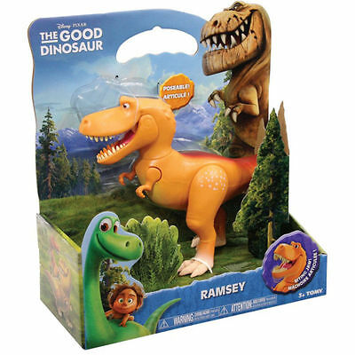 THE GOOD DINOSAUR EXTRA LARGE RAMSEY FIGURE DISNEY TOMY RARE TOY 100% Brand New