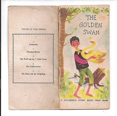 The golden swan childrens book by surf c1950's 15 pages