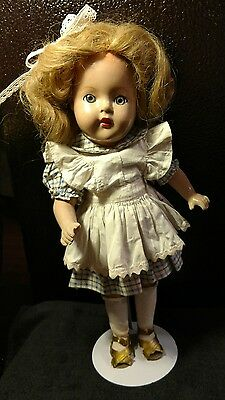 Vintage  Composition doll 15""