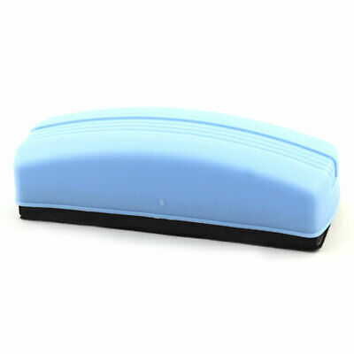 School Teaching Blackboard Plastic Shell Eraser Cleaner Blue Black