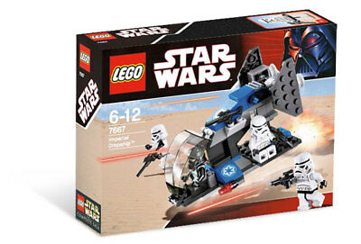LEGO Star Wars Imperial Dropship Set 7667 Shadow Trooper NEW SEALED