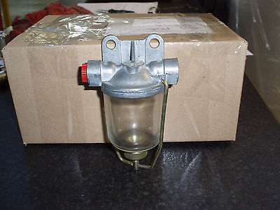 DIESEL TRACTOR GENERATOR TRUCK Glass Fuel Sediment Filter Bowl Assembly