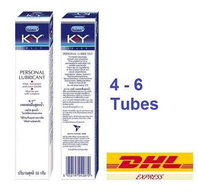 Durex K-Y Jelly Personal Lubricant Lube gel non-greasy KY Water Soluble 15, 50g