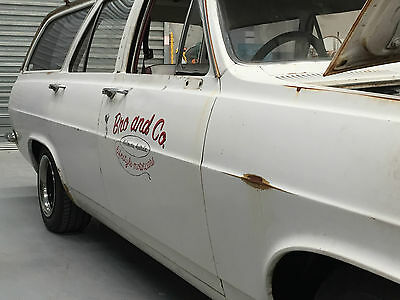 HR Holden Wagon 186 Project